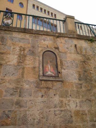 Pamplona, Spanyol: hornacina