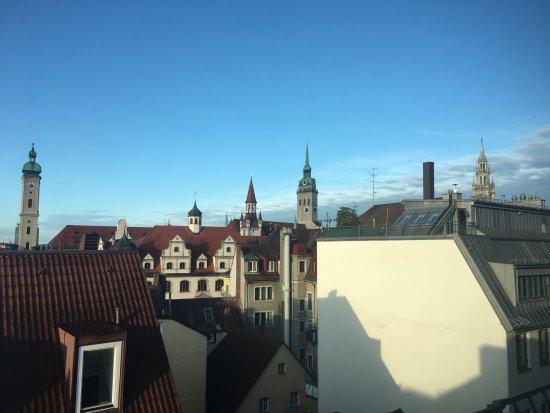 Platzl Hotel: Aussicht