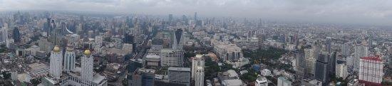 Baiyoke Sky Hotel: vue sur bangkok