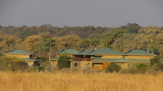 North-West District, Botswana: Thobolo's Bush Lodge operates entirely on Solar energy and is built from non-indigenous material