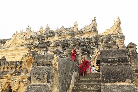 Amarapura, Μιανμάρ: Mal Nu Oak Kyaung in Innwa