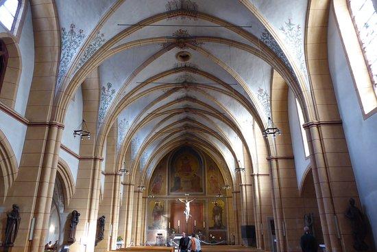 St. Gangolf : Kirchenschiff