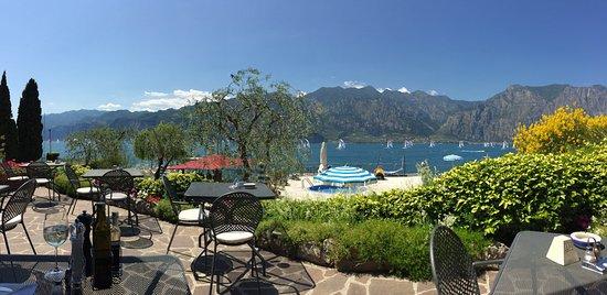 Hotel Sailing Center: Blick von der Terrasse