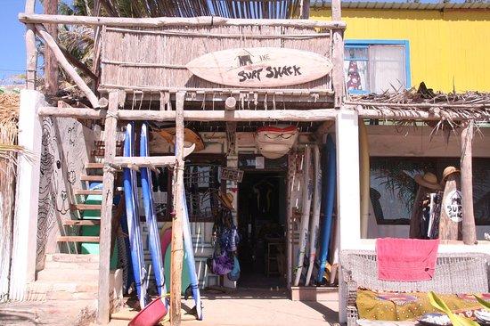 Tofo, โมซัมบิก: Surf Shack