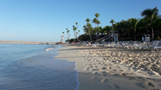Catalonia Gran Dominicus: Пляж