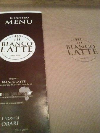 menu - Foto di Biancolatte, Milano - TripAdvisor