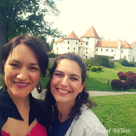 Selca, Croatia: Faces behind Best of Adriatic: Nataša & Amanda
