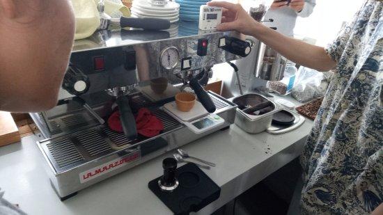 Espresso Machine La Marzocco Picture Of Kintamani Coffee