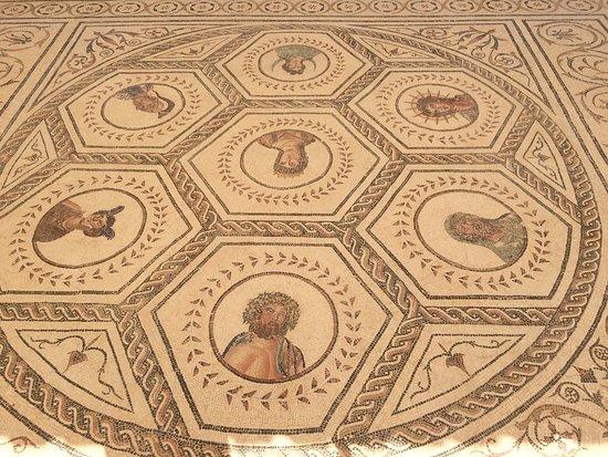Conjunto Arqueológico Itálica: mosaico