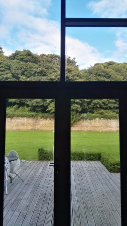 Castlemartyr, Ierland: View from our private deck