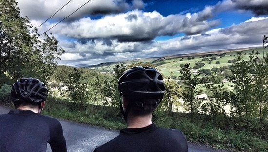 Ilkley, UK: Taking in the views!