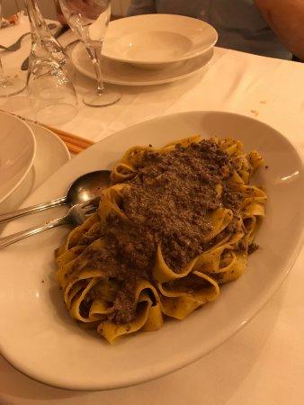 Cavenago d'Adda, อิตาลี: Fettuccine con ragù di cavallo
