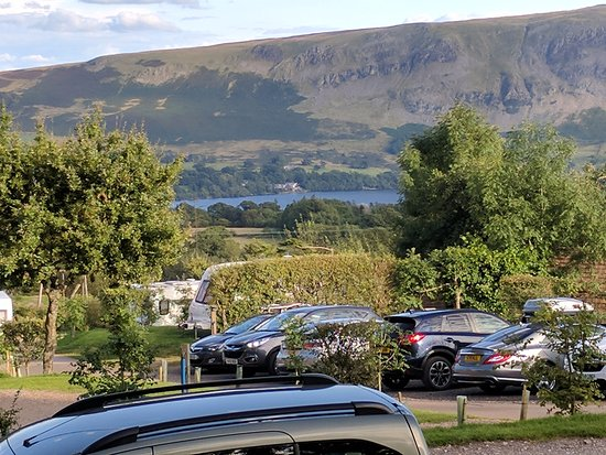 Watermillock, UK: View of Ullswater from our Hobbit Hole