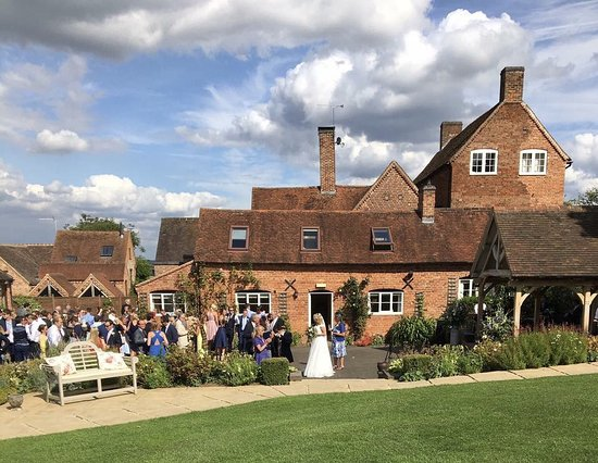 Weston under Wetherley, UK: The stunning setting for an outdoor wedding at Wethele Manor