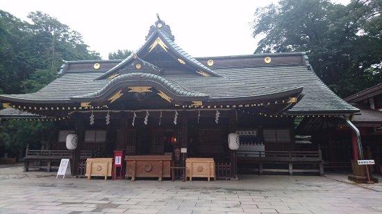 府中市, 東京都, 見事な拝殿
