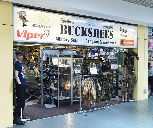 You May Know Our Buckshees Military Surplus Store As A Provider Of Camping Equipment But Did Yo Picture Of Dundas Shopping Centre Middlesbrough Tripadvisor