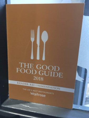 Newport -Trefdraeth, UK: We're in the Good Food Guide 2018!