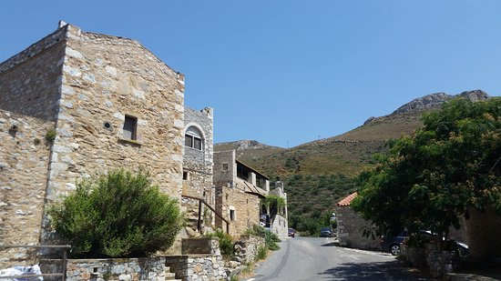 Areopoli, Hellas: Drive to the hotel