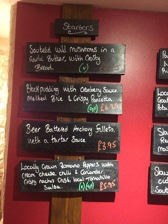 Brading, UK: Specials board