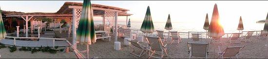 San Nicolo, Italia: beach bar