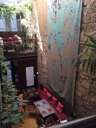 Les Palmiers : Depuis la mezzanine