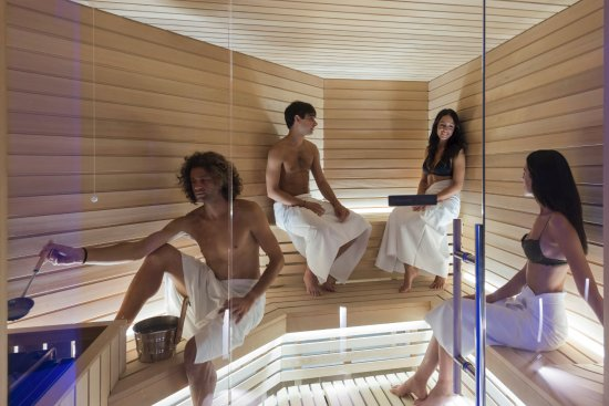 San Martino in Campo, إيطاليا: Sauna - Donini Spa 