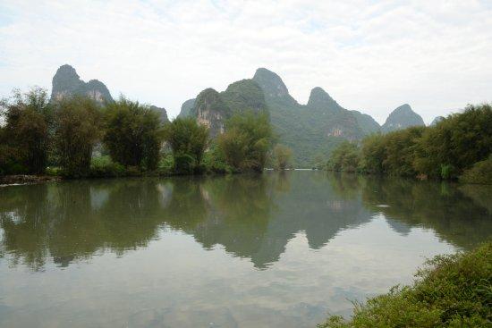 Yangshuo Mountain Retreat: View from the hotel gardens