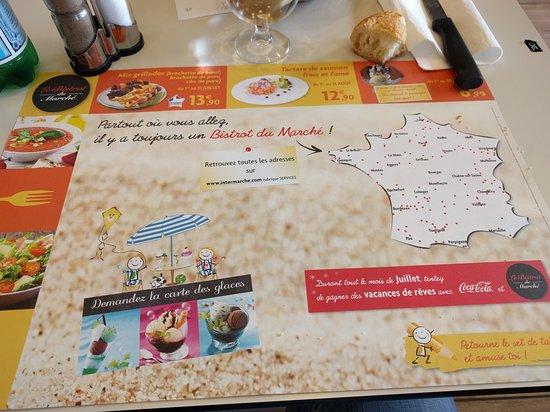 Nogent-le-Rotrou, Frankrijk: Le Bistrot du Marché