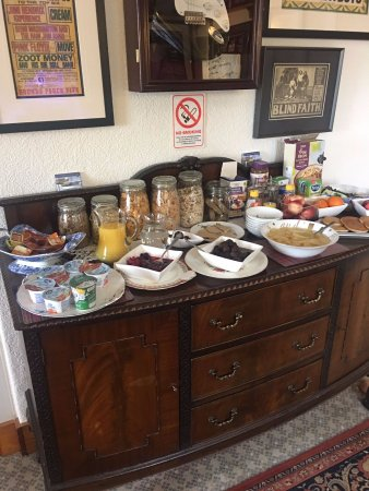 Whiting Bay, UK: Continental Breakfast