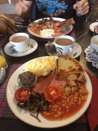 Whiting Bay, UK: Full Scottish Breakfast
