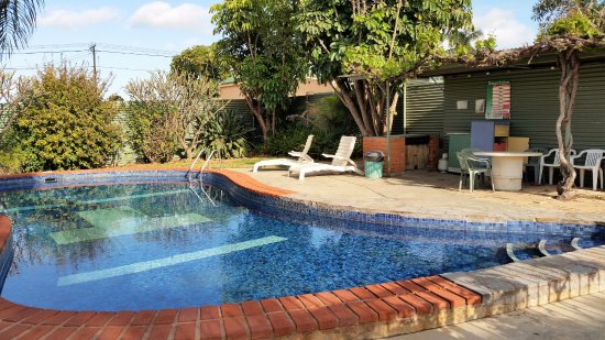 Port Pirie, Australien: Motel pool area