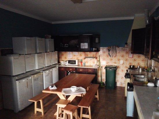 Good Feeling Hostel : The kitchen