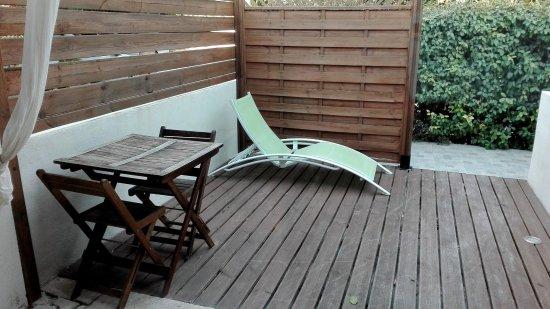 Graveson, Frankrike: terrasse
