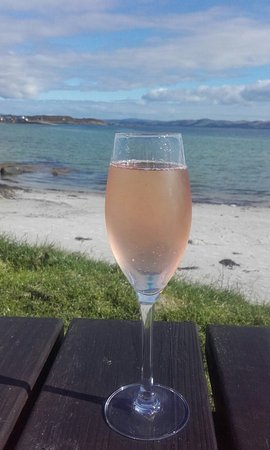 Isle of Gigha, UK: Perfect location for dining