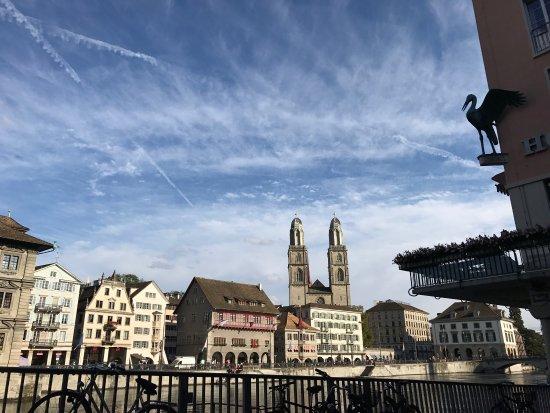 Storchen Zurich: The best view in Zurich