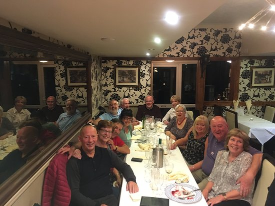 Yarm, UK: Brilliant night for french guests and english hosts