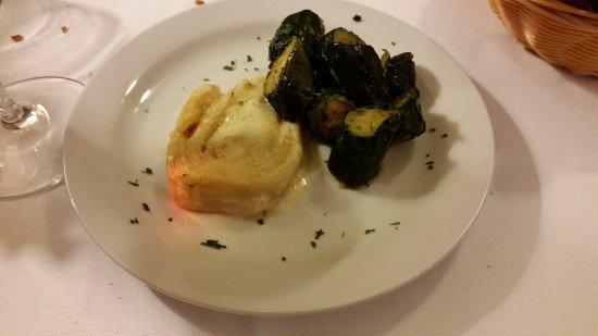 Gattinara, Italia: Verdure di accompagnamento