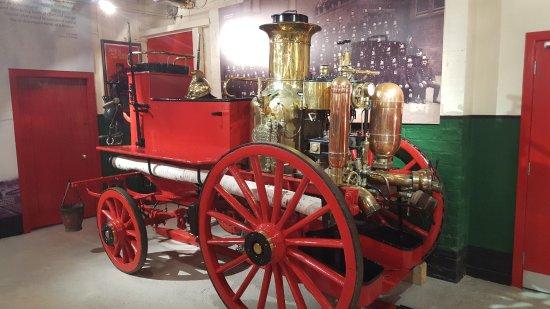 Greenock, UK: A Steam Fire Engine