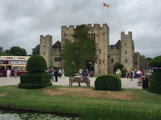 The front of Hever Castle
