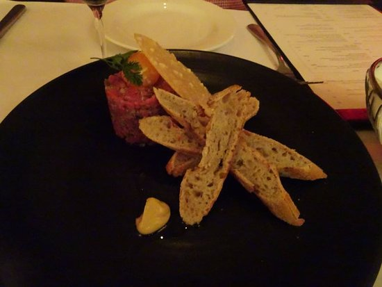 Highgate, Australia: Steak tartare