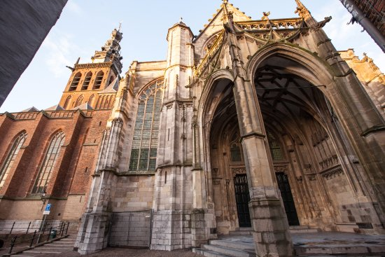 The Southern Portal, also known as Paradise Portal, main entrance of the Stevenskerk