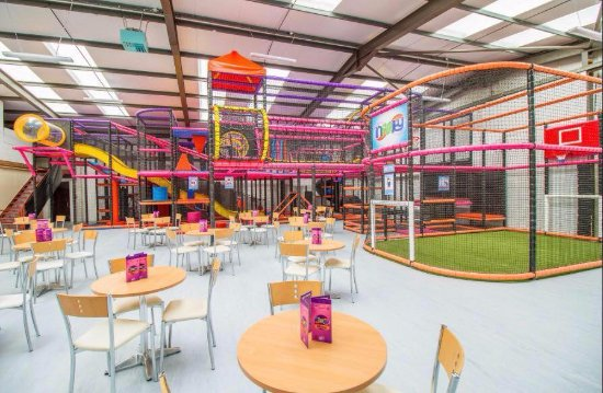 Mold, UK: Main play area