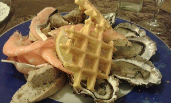 Vendays Montalivet, France: assiette de la mer