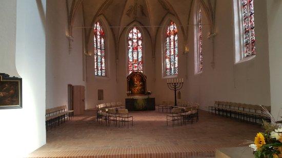 Eutin, Germany: Chorraum mit Altar