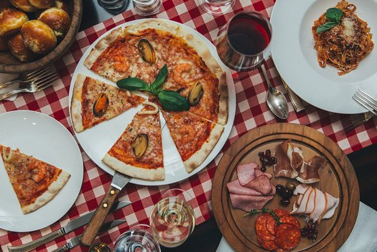 Dessert station on sunday brunch picture of vista for Italian buffet
