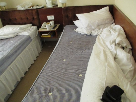 Marlborough Hotel: DIRTY WORN OUT BEDS