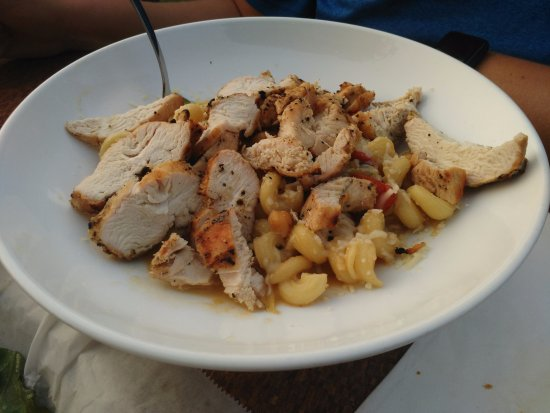 Lewiston, NY: Summer Pasta (with added chicken)