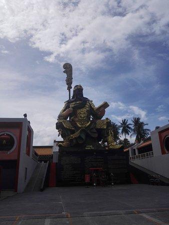 Maret, Thailand: Guan-Yu Koh Samui Shrine
