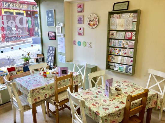 Blaenavon, UK: Lovely coffee and cakes in a cute, quaint environment. Note, they are under new management and a