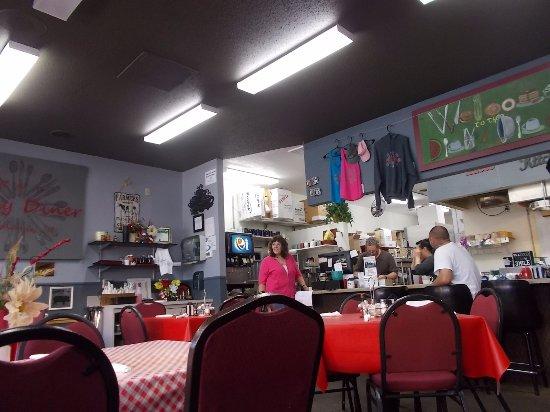 R & T's Dinky Diner, Rhinelander, Wisconsin.